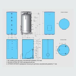 Logalux SF300/5 толщина изоляции 50мм